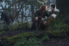 Here are the HQ versions of the new stills of Sam Heughan and Caitriona Balfe as Jamie and Claire Fraser we posted yesterday. More after the jump! - Source: Far, Far Away Site