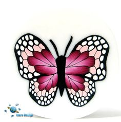 Tutorial BUTTERFLY cane polymer clay cane par marsdesign sur Etsy
