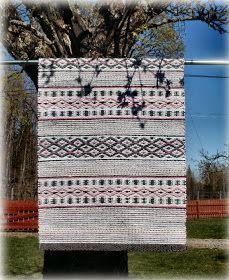 My hobby: Rag rugs Woven Rug, Scandinavian Style, Loom, Pattern Design, Hand Weaving, Carpet, Textiles, Rag Rugs, Creative