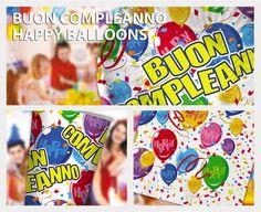 Buon Compleanno Happy Ballons