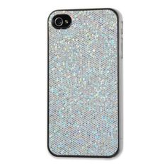 Hmmm, I might just have to have this case for my iPhone! (sparkle iPhone case in sparkly acrylic crystals)