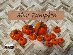 tutorial: miniature pumpkins