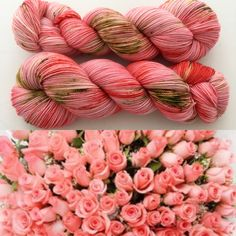 I'll Buy My Own Damn Roses! Witch Candy Yarn colorway