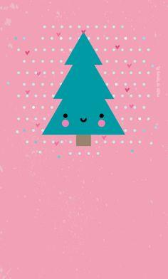 La tienda de dibus: [freebie] Colección de tres fondos para móvil muy navideños