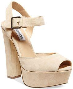 Steve Madden Jillyy Two-Piece Platform Dress Sandals