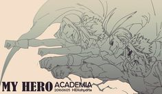 Boku no Hero Academia || Shimura Nana, Toshinori Yagi (All Might).
