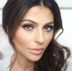 Image result for wedding makeup looks for brown eyes