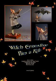 """Witch Ernestine"" Creager Studios"