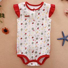Baby bodysuit romper voor meisjes