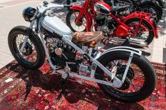 Totally Customized 1950 Nimbus. bobber