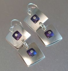 COLOR BLOCKS EARRINGS | by MELODY ARMSTRONG
