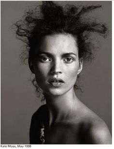 Richard Avedon- Kate Moss Portrait