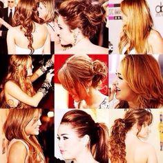 Miley's hair x_x <<33