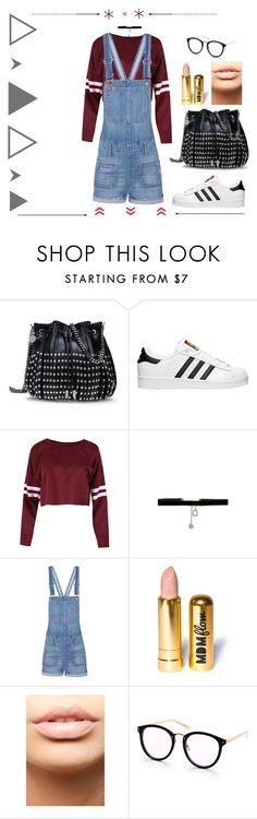 """Denim Overalls"" by belen-lillo on Polyvore featuring moda, STELLA McCARTNEY, adidas, Johnny Loves Rosie, Madewell y MDMflow"
