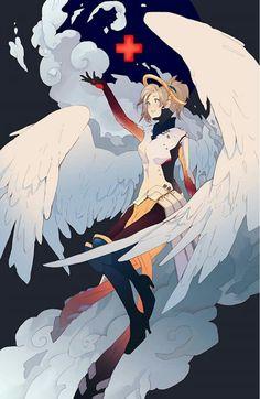 Overwatch Angel Mercy