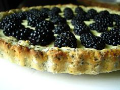 two foodies & a pup: Blackberry Lemon Tart with Poppy Seed Crust
