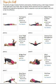 Yoga for golf