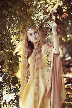 As Amarie grew, she found refuge from her suitors in the forest.
