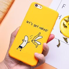 Yellow cover phone case for iphone x xs xs max xr 8 Funny Phone Cases, Iphone Case Covers, Walpaper Iphone, Video Pink, Homemade Black, Kid Friendly Dinner, Video Games For Kids, Kids Nutrition, Healthy Kids