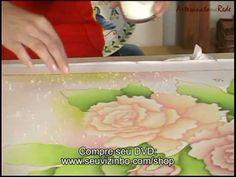 DVD Pintura em Seda - Artesanato na Rede