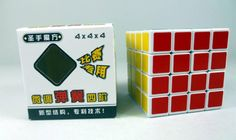 3 PCS shengshou 4x4 Magic Cube 4x4x4 High Speed cube  Puzzle Sticker Toys White