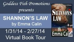 The Blurb for Shannon's Law - as posted on guest blogs on my Pre-Launch Virtual Book Tour with the fantastic Goddess Fish Promotions.