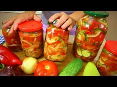 Cooking Recipes, Healthy Recipes, Cucumber Salad, Winter Food, Summer Salads, Food Items, Vegetable Recipes, Pickles, Stuffed Peppers