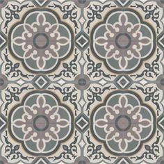 Moroccan Encaustic Cement Pattern Pre Sealed 29c