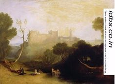 Linlithgow Palace, c.1807 by Joseph Mallord William Turner