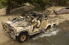 I want this Land Rover (Australian SAS Long Range Patrol Vehicle)