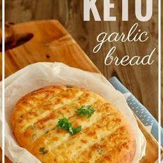 CHEESY KETO GARLIC BREAD - Recipes Diaries