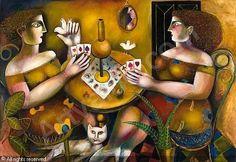Vassilis Sperantzas (Greece Playing cards 90 x 130 cm. American Words, Photo S, Greece, Playing Cards, Fancy, Fine Art, Artist, Artworks, Bridge