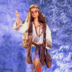Between #Coachella weekends and this season's fringe trend, this 1970s #TBT felt most appropriate!  #barbie #barbiestyle