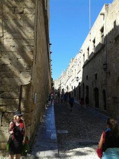 Rhodes castle street