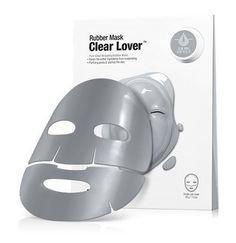 Dr. Jart+ Dermask Rubber Mask Clear Lover 1set (ampoules&Rubber) Skincare Sheet #Drjart