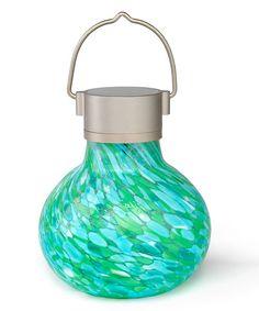 Allsop Home & Garden Mint Solar Tea Lantern | zulily