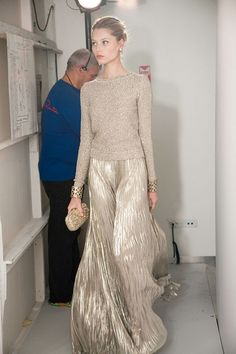 {fashion inspiration | gold : head-to-toe} by {this is glamorous}, via Flickr