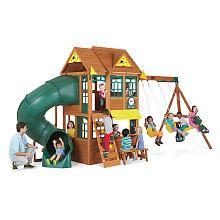 Summerlin Retreat Wood Swing Set