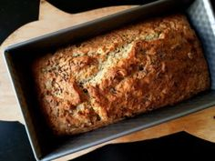 Bread And Pastries, Banana Bread, Cheesecake, Low Carb, Gluten Free, Cooking Recipes, Yummy Food, Homemade, Meals