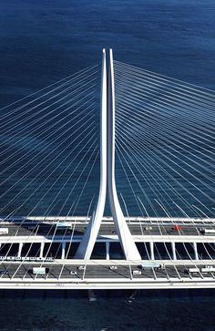 ♥♥ Zaha Hadid Architects Win Danjiang Bridge Competition in Taiwan,© Danjiang Bridge by Zaha Hadid Architects, render by MIR