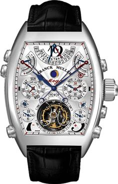 Franck Muller Aeternitas - Most Complicated Wrist Watch (36 complications, 1483 components, 99 jewels)