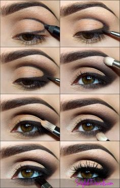 Hazel Eyes Makeup DIY