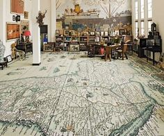 map floor. awesome.