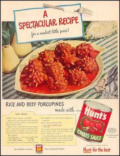 Slow Cooker Porcupine Meatballs Slow Cooker Recipes, Crockpot Recipes, Cooking Recipes, Slow Cooker Steak, Cooking Stuff, Vitamix Recipes, Hamburger Recipes, Potluck Recipes, Party Recipes