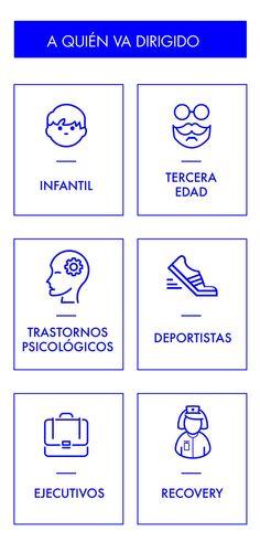 Neuros Center está indicado a: deportistas, tercera edad, infantil...