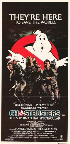 """Ghostbusters,"" 1984. Directed by Ivan Reitman"
