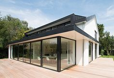 Glass House, My New Room, Future House, Interior And Exterior, Cladding, New Homes, Home And Garden, House Design, House Styles