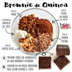 Here is the Brownie recipe so wait - DIY healthy snacks - Raw Food Raw Food Recipes, Veggie Recipes, Vegetarian Recipes, Cooking Recipes, Healthy Recipes, Healthy Sweets, Healthy Cooking, Healthy Snacks, Healthy Eating