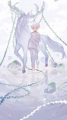 Anime Boy Hair, Anime Child, Anime Art Girl, Anime Guys, Character Inspiration, Character Design, Dibujos Cute, Beautiful Fantasy Art, Horses
