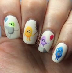 Dumb ways to die Dumb Ways, Nails For Kids, Dumb And Dumber, Nail Art, Composition, Design, Nail Arts, Writing, Design Comics